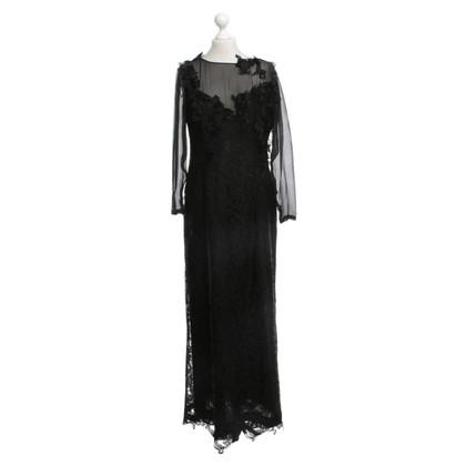 Alberta Ferretti Lace dress in black