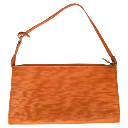 "Louis Vuitton ""Pochette Accessoires Epi"" in Orange"