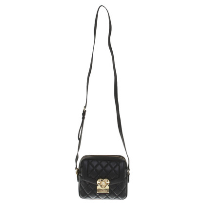 Moschino Love Leather Satchel