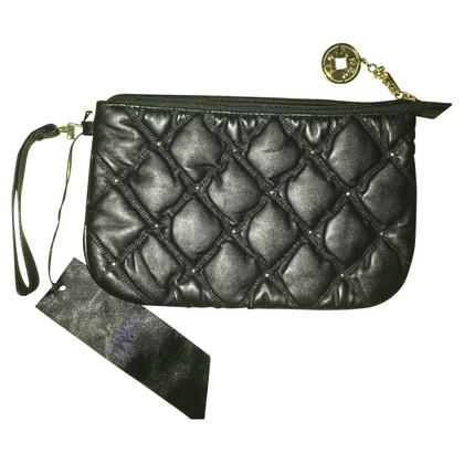 Pinko clutch in black