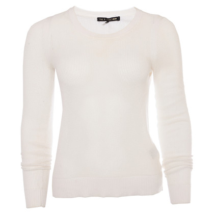 Rag & Bone White knit pullover
