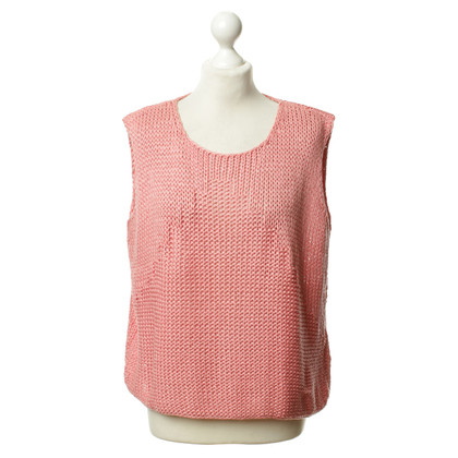Luisa Cerano Vests in salmon pink