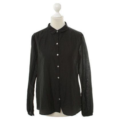 Maison Scotch Bluse in Schwarz
