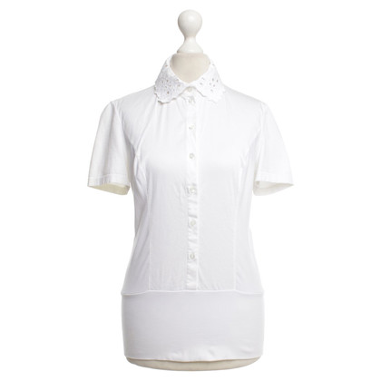 Wolford Short sleeve blouse in white