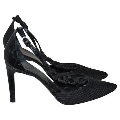Giorgio Armani zwarten sandalen