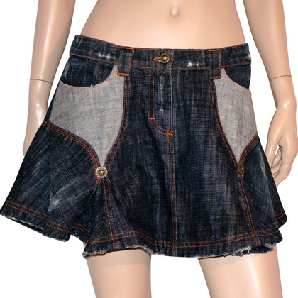 Just Cavalli Denim Miniskirt