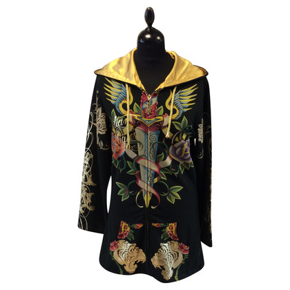 Christian Audigier Sweatshirtjacke