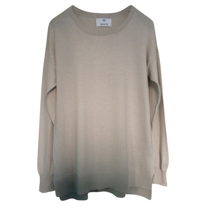 Allude Cotton and cashmere sweater