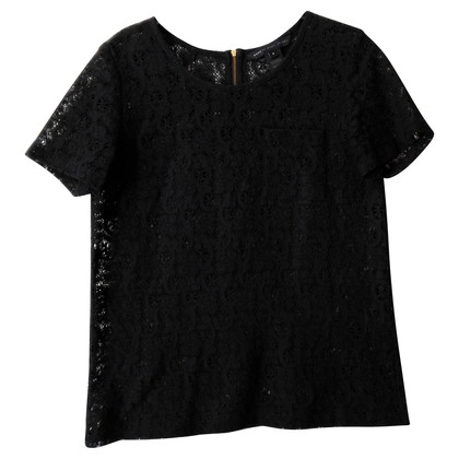 Marc Jacobs Black Lace shirt