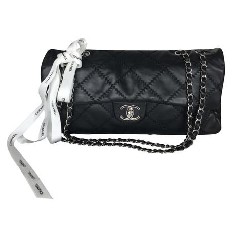 Chanel Flap Bag Schwarz Billige Sammlungen NDRynie7g