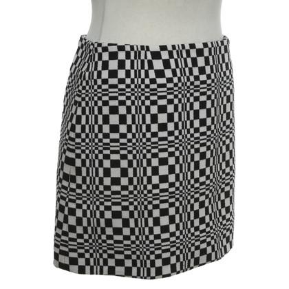 Céline Mini skirt in black and white