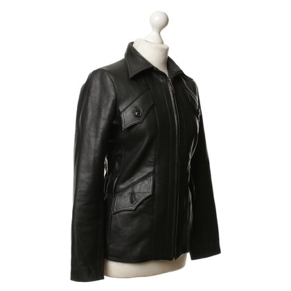 Citizens of Humanity Black leather jacket