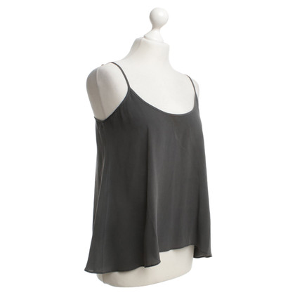 American Vintage Silk top in grey