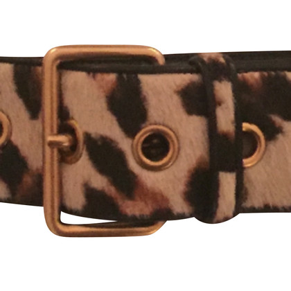 Miu Miu Belt with leather trim