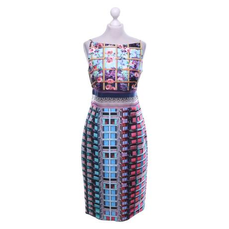 Mary Katrantzou Kleid mit Muster Bunt / Muster
