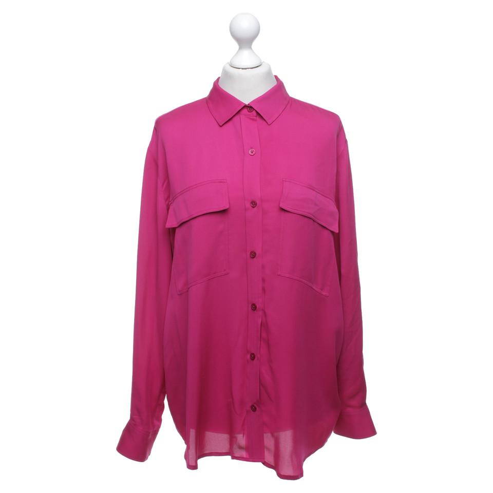 michael kors seidenbluse in pink second hand michael kors seidenbluse in pink gebraucht kaufen. Black Bedroom Furniture Sets. Home Design Ideas
