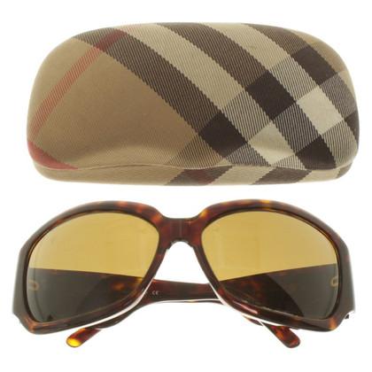 Burberry Sonnenbrille mit Schildpatt-Muster