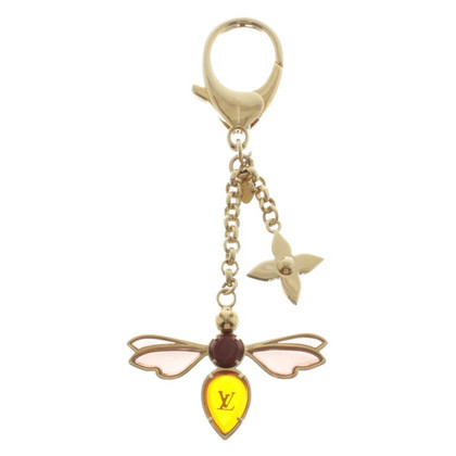 Louis Vuitton Key pendant with insect motif