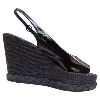 Walter Steiger Wedges with patent leather