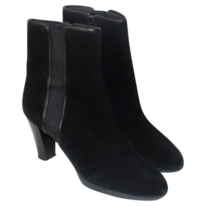 Hugo Boss Boots black suede