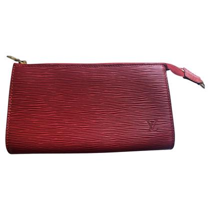 """Louis Vuitton """"Pochette-accessoires Epi-leer"""""""