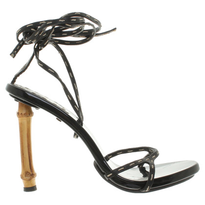 Gucci Sandals with bamboo heel