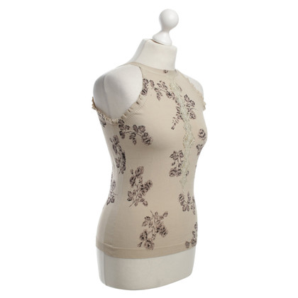 La Perla Top with floral pattern