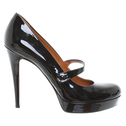 Gucci Mary-Jane-Pumps aus Lackleder