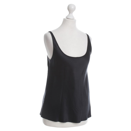 Donna Karan Silk top in black