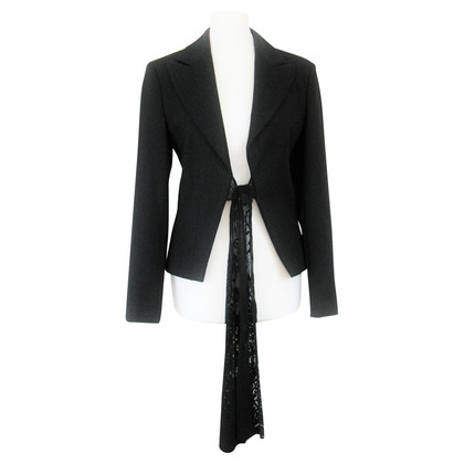 Piu & Piu Blazer jacket with a bow