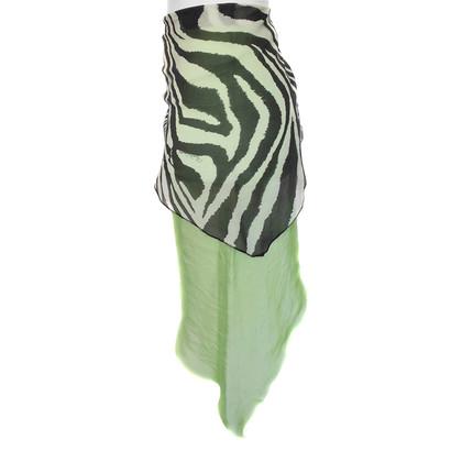 Roberto Cavalli Multicolor silk sarong