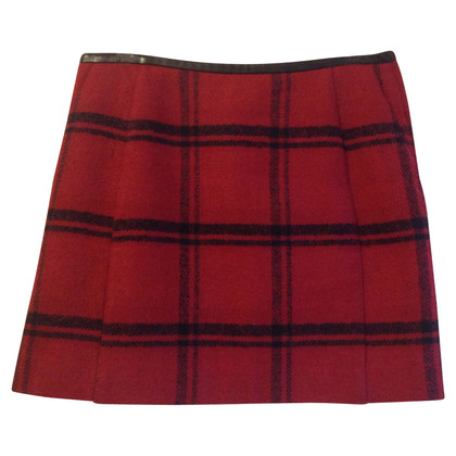 Claudie Pierlot Checkered skirt
