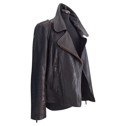French Connection leather jacket