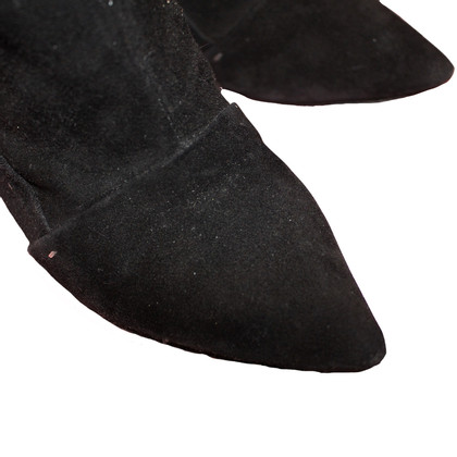 Louis Vuitton BOOTS Black Suede