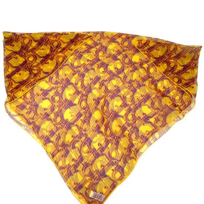 Christian Dior Logo foulard
