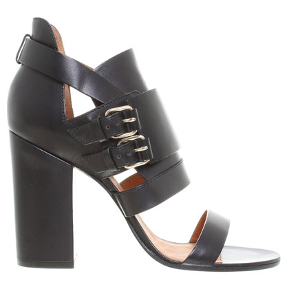 Givenchy Riemen-Sandale in Schwarz