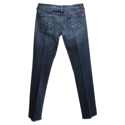 7 For All Mankind Jeans in Blauw