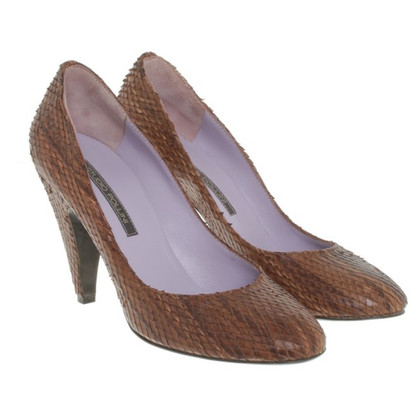 Pollini pumps reptiel optica