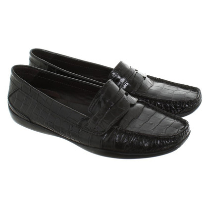 Andere Marke Attilio Giusti Leombruni - Slipper in Schwarz