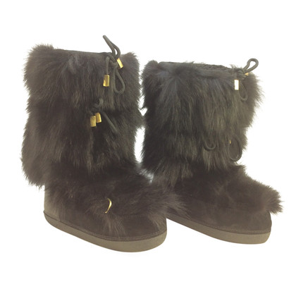 Dsquared2 Moonboots mit Fell