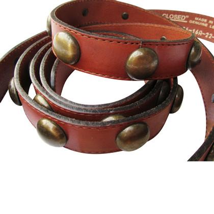 Closed Cintura marrone