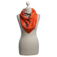 Hermès Silk scarf with animal print