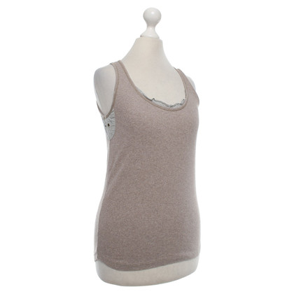 Brunello Cucinelli Top in Beige