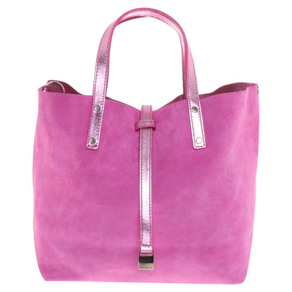 Tiffany & Co. Reversible handbag in pink