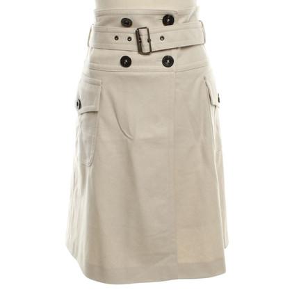 Burberry skirt in cream