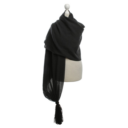 Armani Wool stole in anthracite