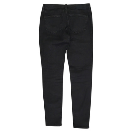 All Saints Nero Biker Jeans