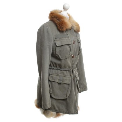 Thes & Thes Parka in Khaki