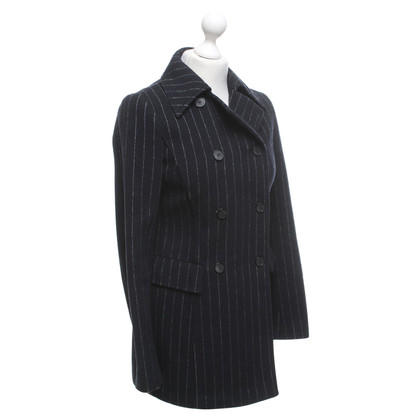 Philosophy di Alberta Ferretti Coat with pinstripe pattern