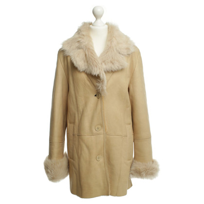Other Designer Coat with real fur